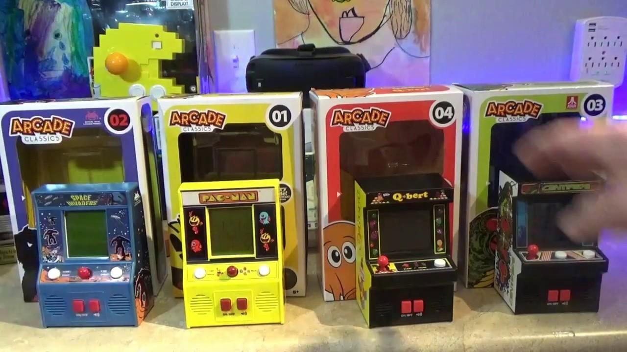 Arcade Classics Walmart Exclusive Mini Arcade Machine Pick
