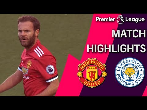 MATCH CUT DOWN: Man United v. Leicester City