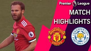Man United v. Leicester City I PREMIER LEAGUE MATCH HIGHLIGHTS | NBC Sports