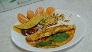 Tofu Omelette - Video Recipe No Egg - Vegetarian Cooking By Bhavna