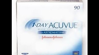 1-Day Acuvue Moist for Astigmatism contact lenses(, 2014-08-09T05:24:56.000Z)