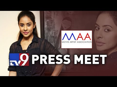 MAA Press Meet LIVE || Sri Reddy leaks || Tollywood Casting Couch