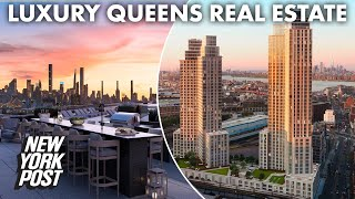 How developers are selling Manhattanites on luxury — in Queens | New York Post