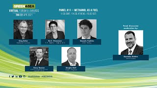 2021 GREEN4SEA Virtual Forum Panel 11: Methanol as a fuel