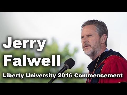 Commencement 2016 - President Jerry Falwell