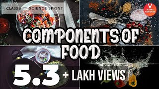 Components of Food Class 6 Science Sprint for Final Exams NCERT Solutions for Class 6 Science
