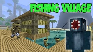 minecraft attack of the b team fishing village 63