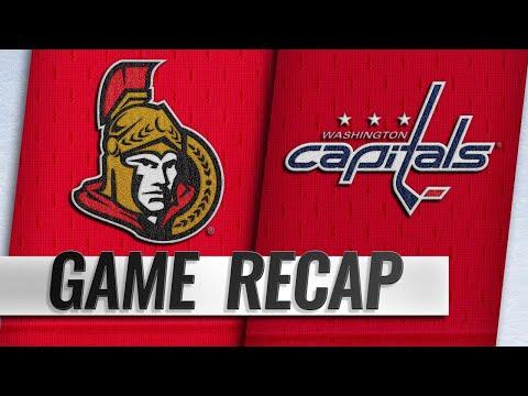 Capitals Score Seven Unanswered Goals In 7-2 Win