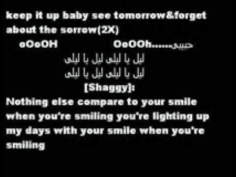 Tamer Hosny FT Shaggy-Smile lyrics.wmv - YouTube.flv
