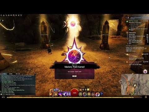 GW2 Path of Fire - Elon Riverlands: Mysteries of The Exalted Mastery Point Guide