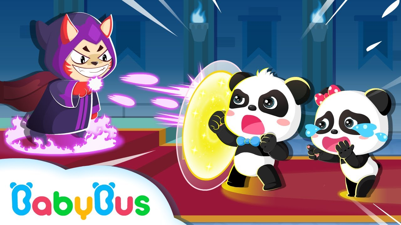 Baby Panda Rescues Friends | Math Kingdom Adventure | Learn Numbers | Kids Cartoon | BabyBus