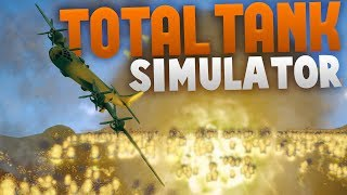 B-29 Bomber With Nukes!? Huge Scale Battles! - Total Tank Simulator Beta 4 - Huge Update!