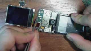 Nokia 3110 замена стекляшки.