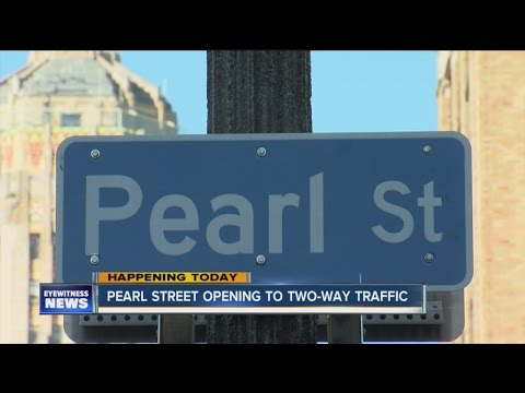 Pearl Street traffic pattern changes to two-way traffic