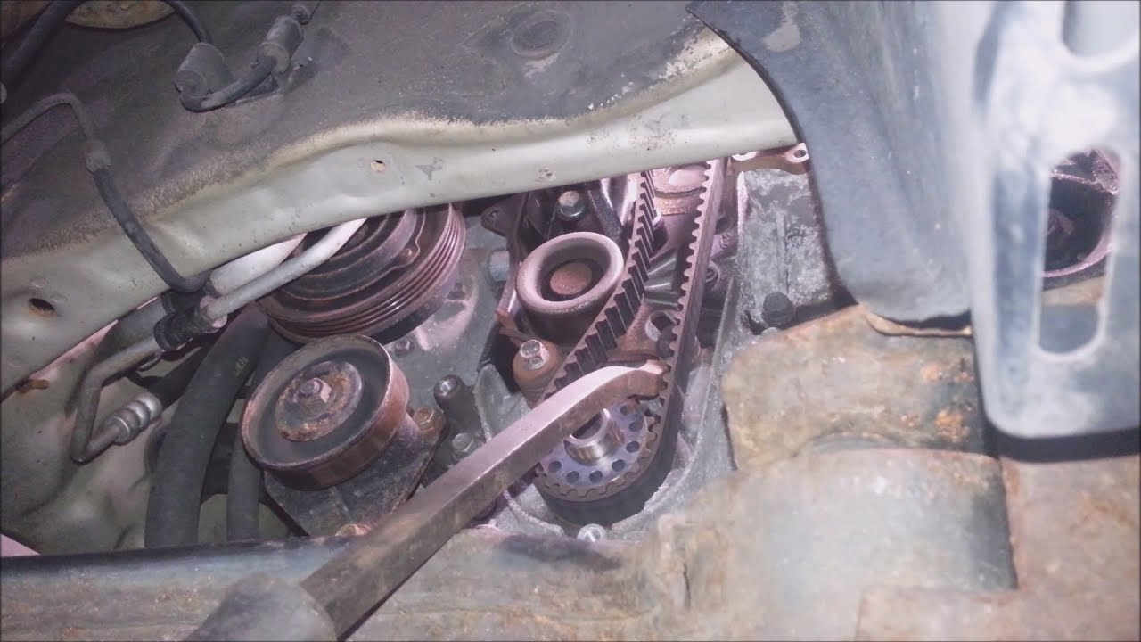 2006 2011 kia rio timing belt replacement [ 1280 x 720 Pixel ]