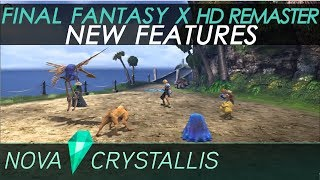 Final Fantasy X HD Remaster (PC) New Features