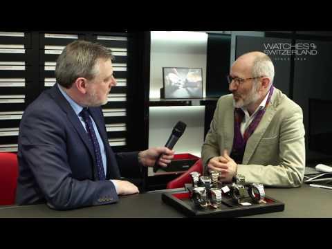 Watches of Switzerland interviews Tudor's head of design, Ander Ugarte