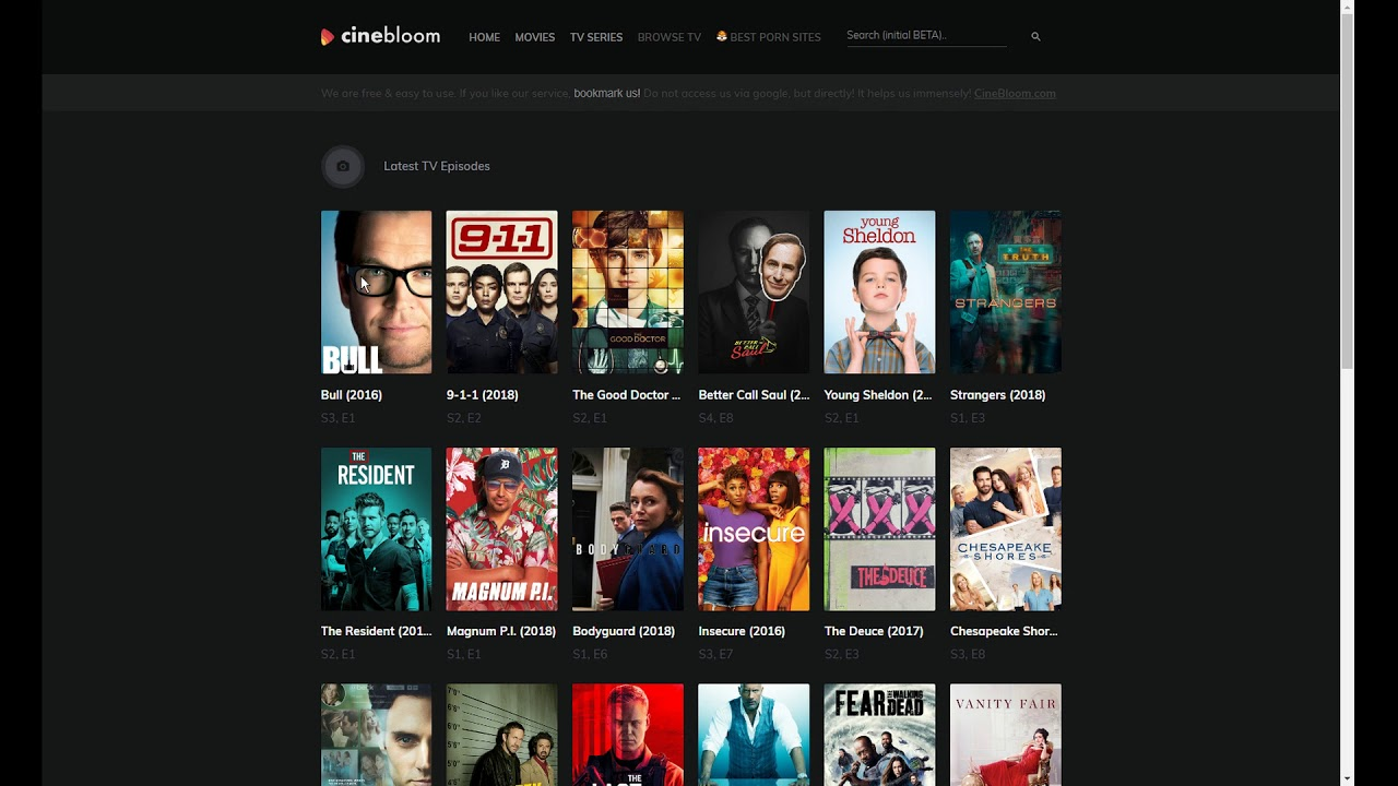 Cinebloom Com How To Watch Free Movies Tv Shows Series Online Stream