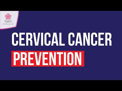 The most common form of cervical cancer starts with pre-cancerous changes