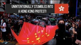 I traveled to Hong Kong despite protests ||| Hong Kong Travel Vlog (Day 1)