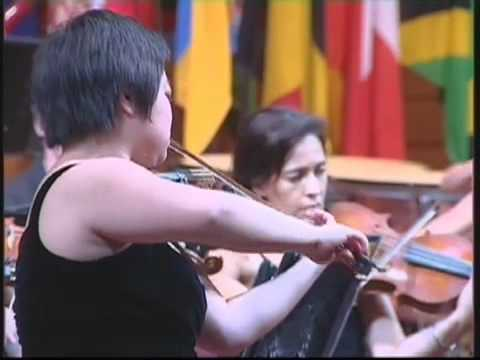 Yura Lee, violin - Tchaikovsky Violin Concerto (3 of 4)