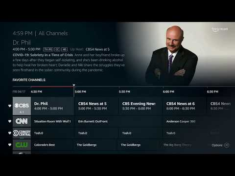 Recast TV Guide Add Favorites And Remove Channels