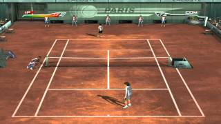 Top Spin 1 PC Me federer old style vs Rafael Nadal