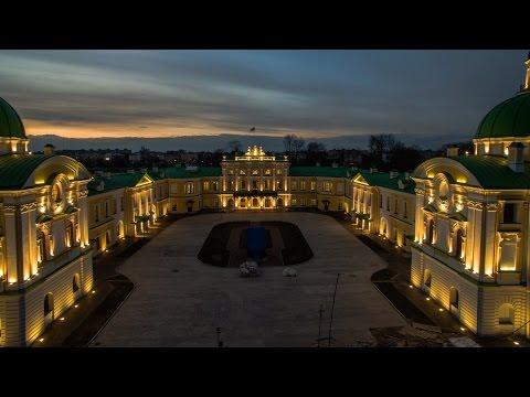 Тверь. Тверской Императорский Дворец. Tver. Tver Imperial Palace. 4K