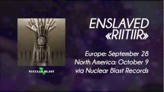 ENSLAVED - Thoughts Like Hammers (OFFICIAL LYRIC VIDEO)