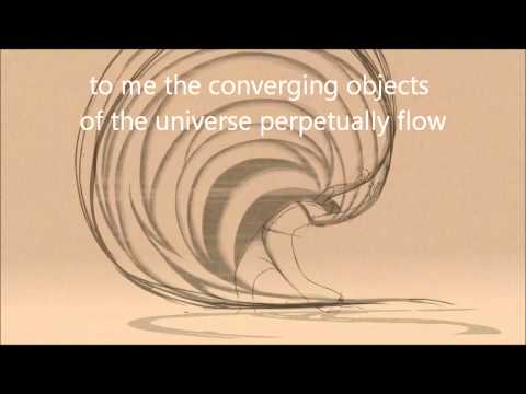 Walt Whitman: Song of Myself Visual Poetry