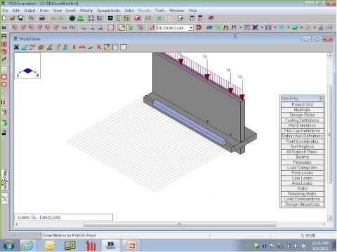 Foundation Design including Retaining Walls