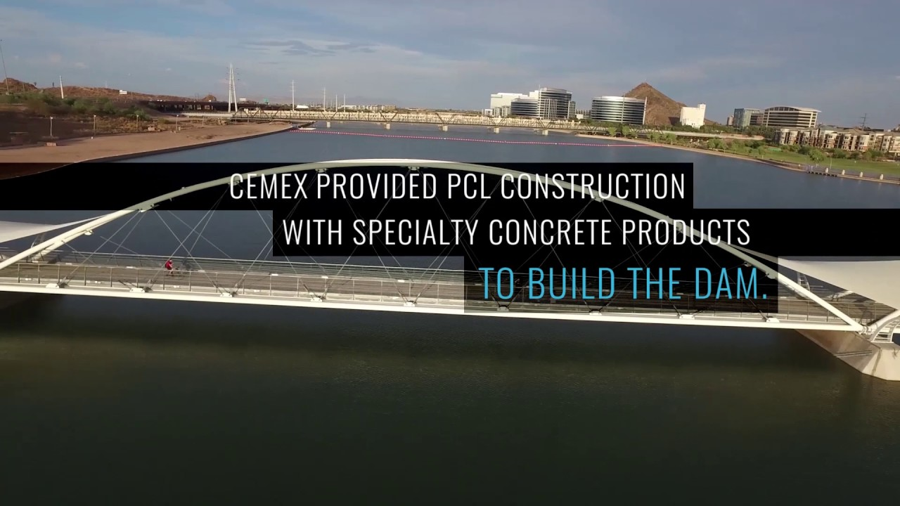 CEMEX USA: Building a Better Future with the Tempe Town Lake Dam
