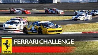 ferrari challenge apac fuji 2016 highlights race 1