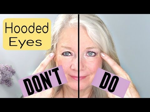 Do's and Don'ts: Mature Hooded Eye Makeup 2019