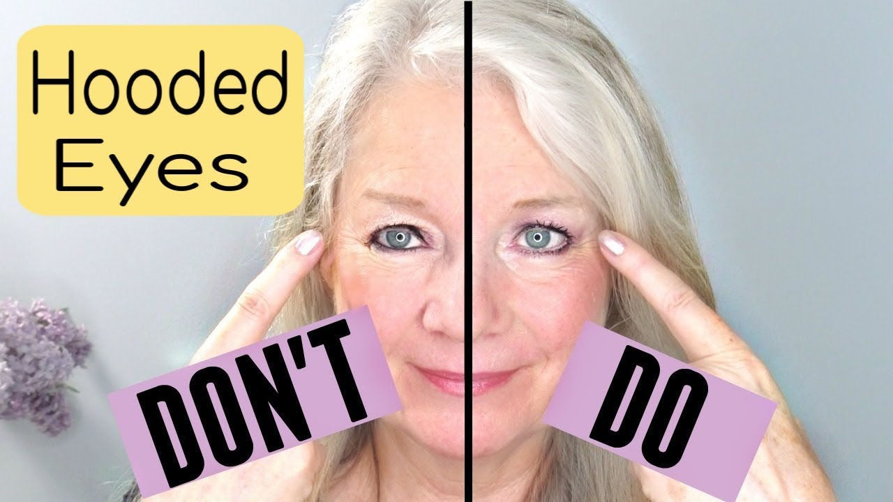 do's and don'ts for hooded, downturn or mature eye makeup