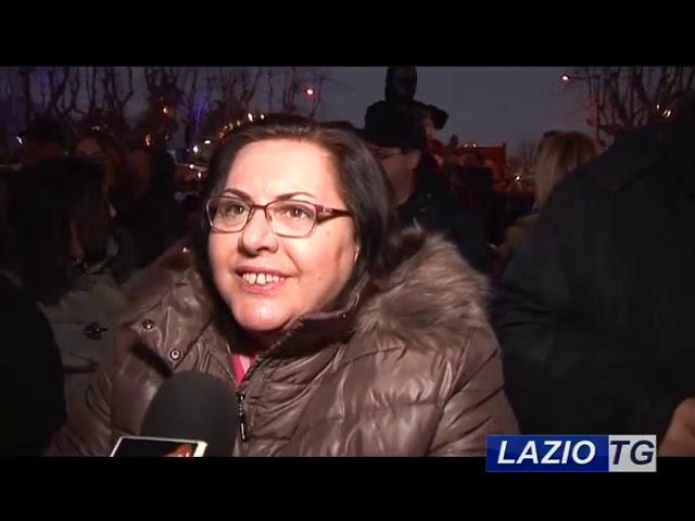 Laziotv   GAETA, CON IL VOLO DELL'ANGELO E' INIZIATO IL CARNEVALE