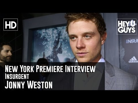 Jonny Weston   Insurgent New York Premiere