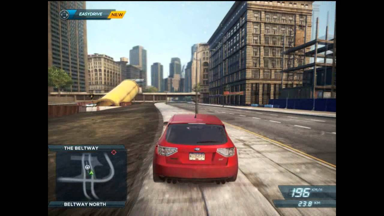 Need for Speed Most Wanted 2012 Ati Radeon HD 4600