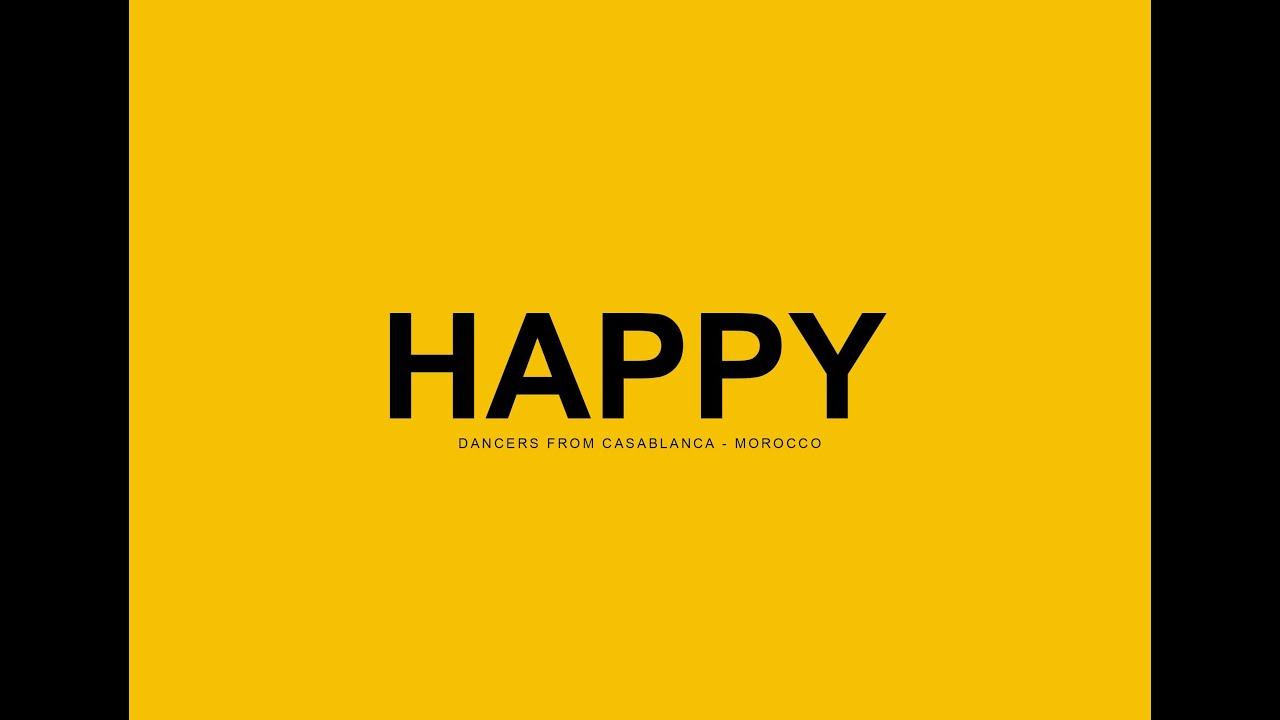 pharrell williams happy dancers from casablanca youtube