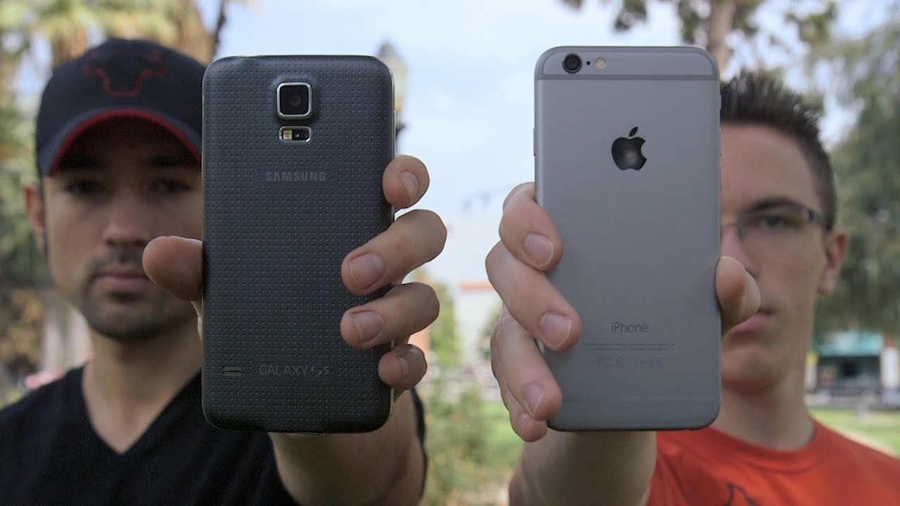 samsung galaxy s5 vs iphone 6 iphone 6 vs samsung galaxy s5 speed test 19442