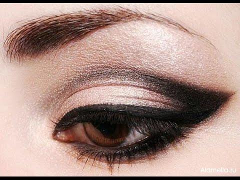 Идеальный вечерний макияж для карих глаз