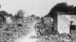 Terremoto de 1944  San Juan Argentina
