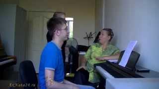 Урок вокала. Резонаторы и резонанс. Блиц - Упражнение.