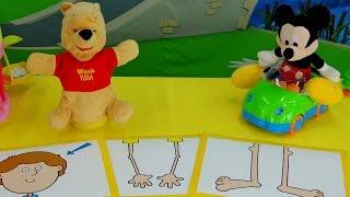 Винни Пух и Микки Маус - Уроки АНГЛИЙСКОГО для детей
