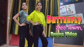 Butterfly : Jass Manak | Dance Video | Satti dhillon | sherry Nexus | GK DIGITAL | D Dance Zone