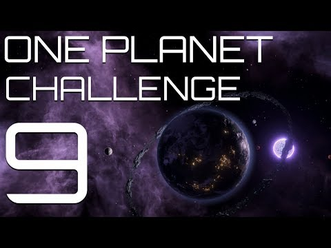 Stellaris - The One Planet Challenge - Part 9 - First foray in SPACE warfare