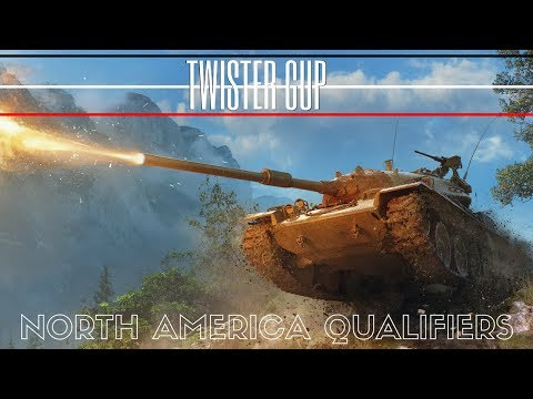 TWISTER CUP NORTH AMERICAN QUALIFIERS WORLD OF TANKS BLITZ