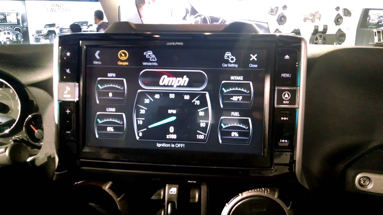 Alpine X009 Jeep Wrangler 9 Quot Restyle Infotainment System