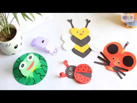 fun-crafts-for-kids-|-paper-animal-toys-|-diy-kids-crafts