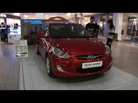 Hyundai Solaris Красный Comfort вид снаружи